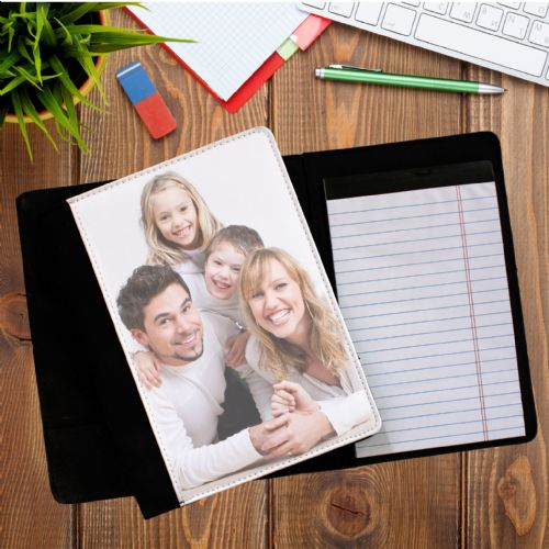 Personalised PHOTO Notepad Notebook with paper N1